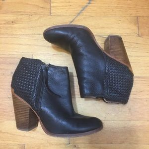 Coach Black Leather Booties 7